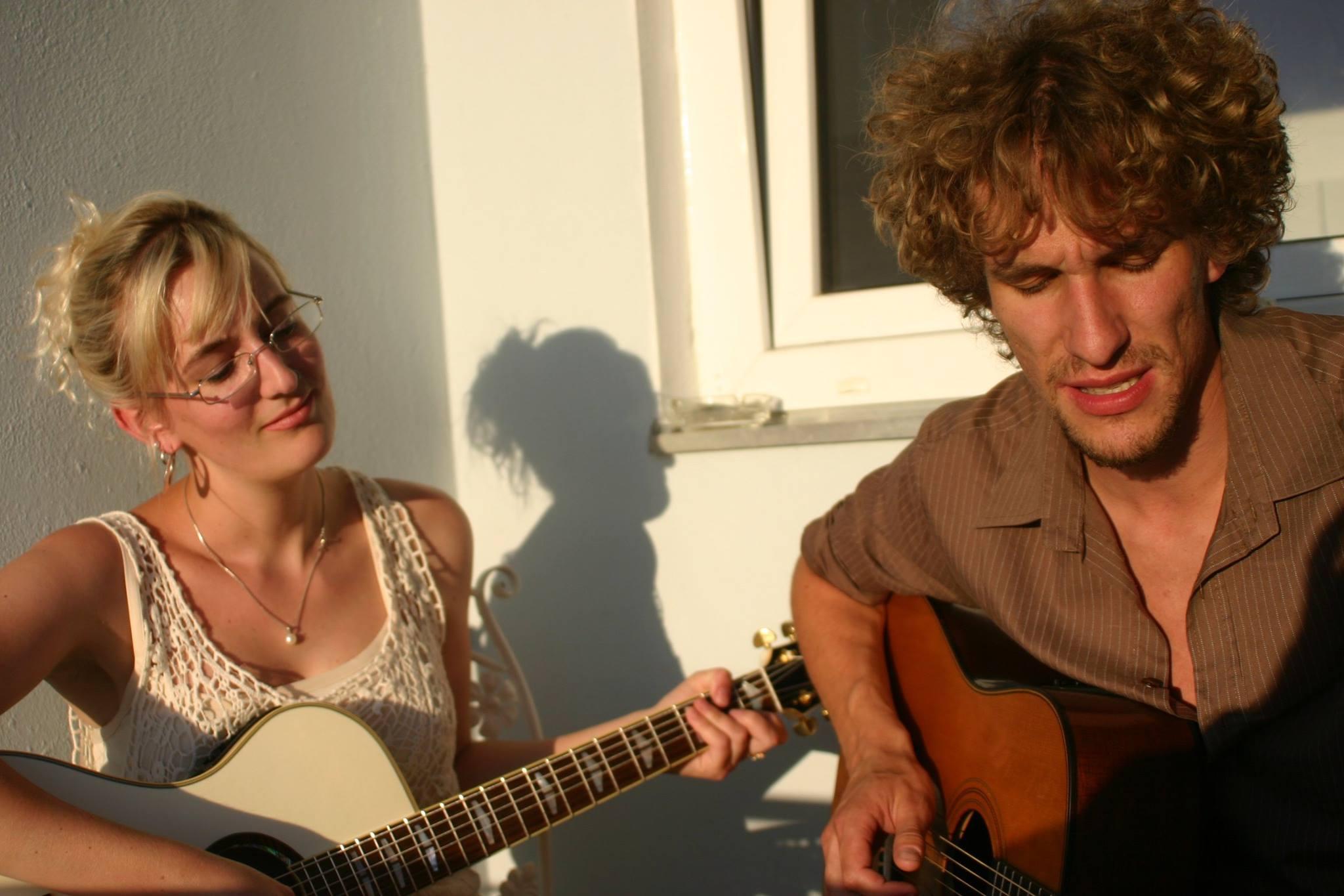 Cosma Sophia Leiner und Julian Kehrer von Cosmic July